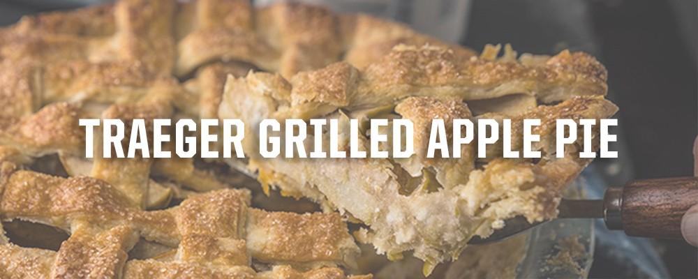 Traeger Grilled Apple Pie Recipe