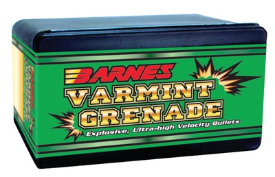 Varmint Grenade Bullets Lead Free .20 Caliber .204 Diameter 26 Grain Flat Base 100 Per Box' data-lgimg='{