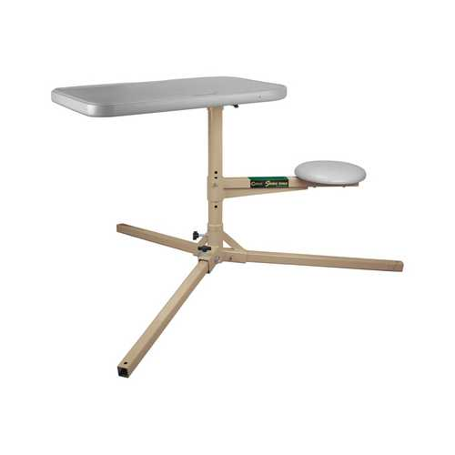 Caldwell Stable Table With Padded Seat