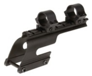 Saddle Mount With One Inch Rings for Remington 870 Express 12 Gauge 3.5 Magnum Blue