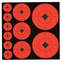Self-Adhesive Target Spots Assortment 132 Total