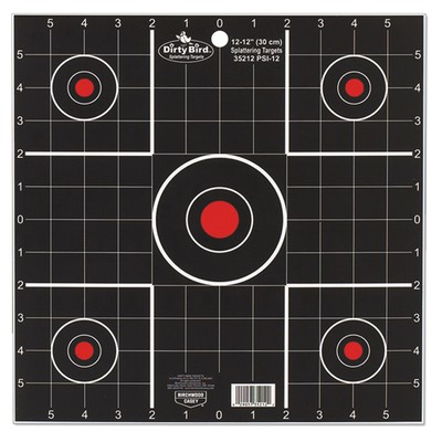 "Birchwood Casey Dirty Bird Splattering Target 12"" 12 Pack"