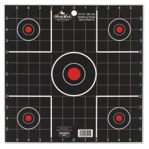 Dirty Bird Splattering Targets 12 Inch Sight-In Package of 12