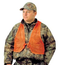 Adult Mesh Safety Vest Orange