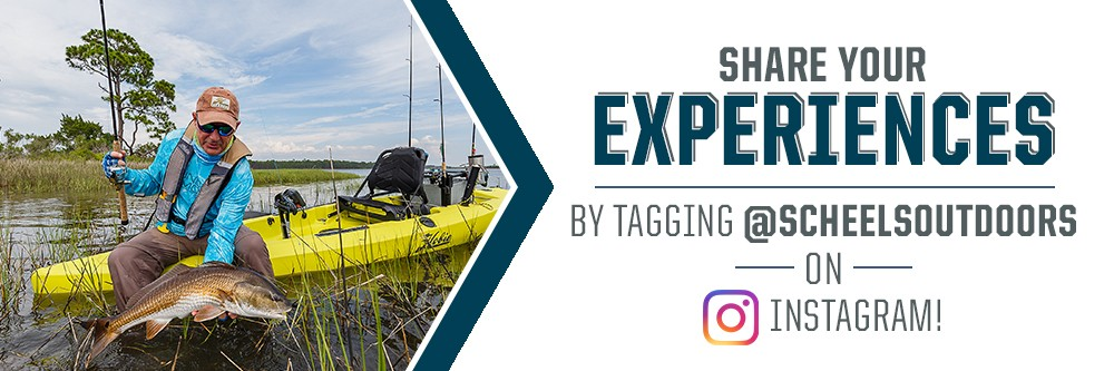 Share your experiences with us by tagging @scheelsoutdoors on Instagram.