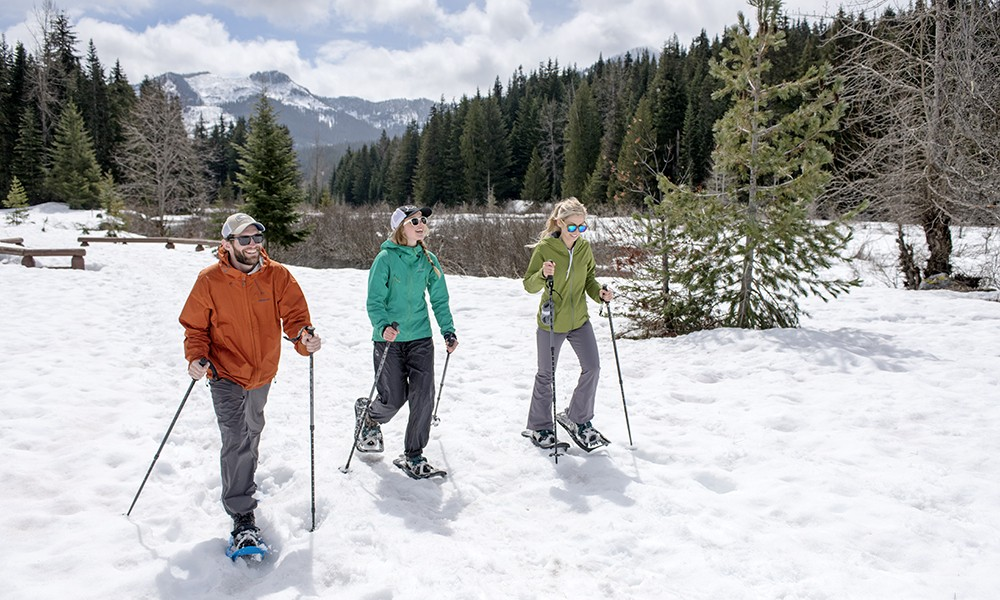 Clothing to wear while snowshoeing
