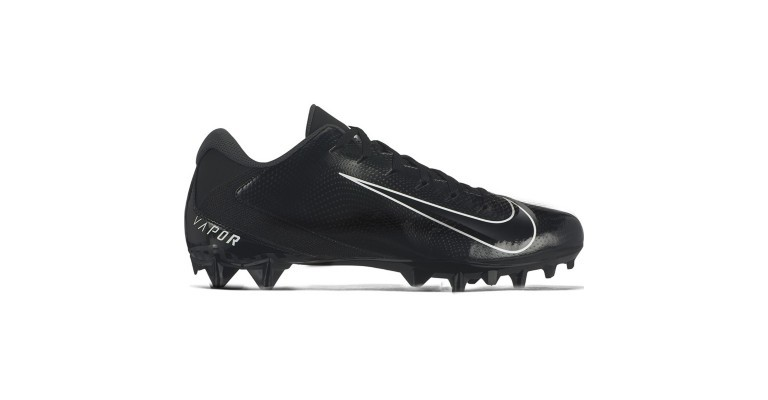 a low top football cleat