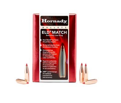 Hornady ELD Match 30 Cal .308 168 gr Bullets 100 Ct