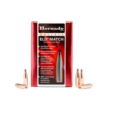 Hornady ELD Match 6.5mm .264 147 gr Bullets 100 Ct