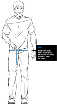 Kuhl Hip Fit Guide Image