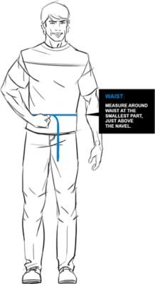 Kuhl Waistt Fit Guide Image