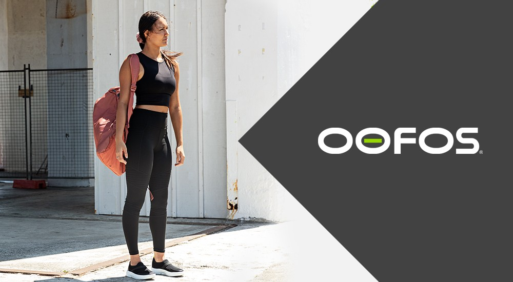 Comfortable Shoes called Oofos