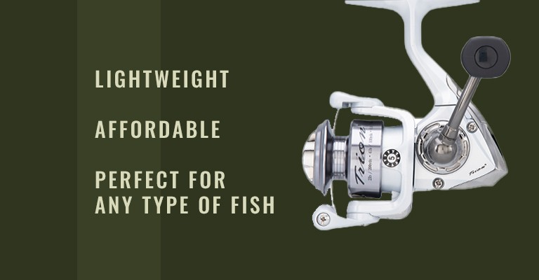 Pflueger Trion Spinning Reel: lightweight, affordable, and perfect for any type of fish