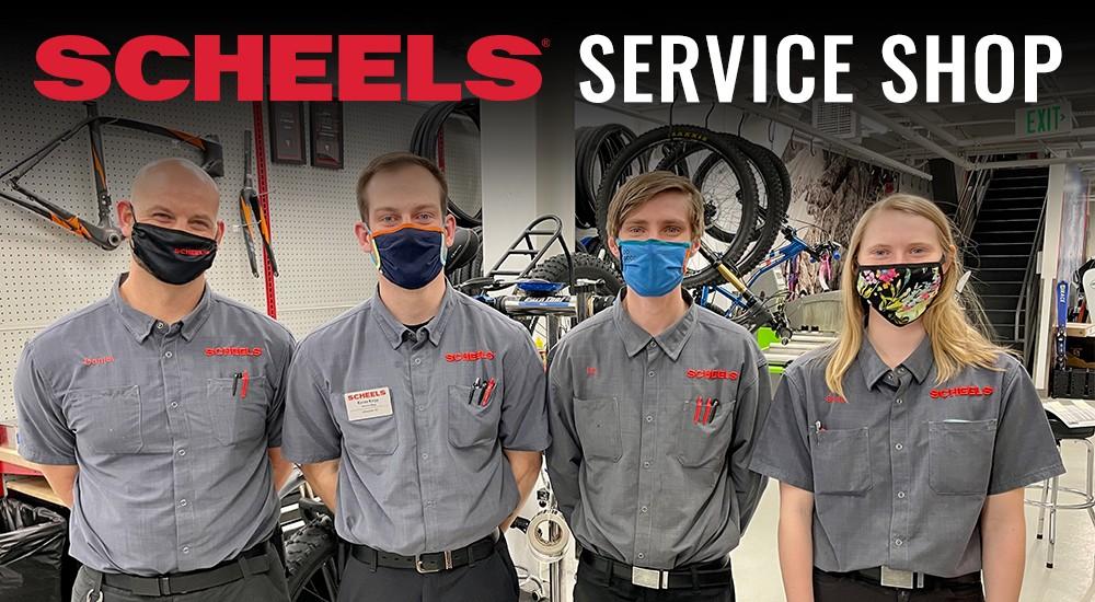 Service Shop Members at SCHEELS