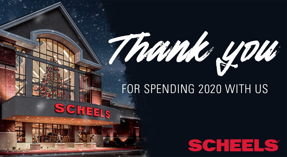 Thank you for spending 2020 with us!