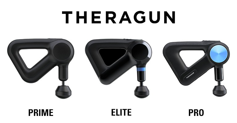 Theragun percussion massagers