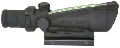 ACOG 3.5x35 Scope Illuminated Green Crosshair .223 Ballistic Reticle Black
