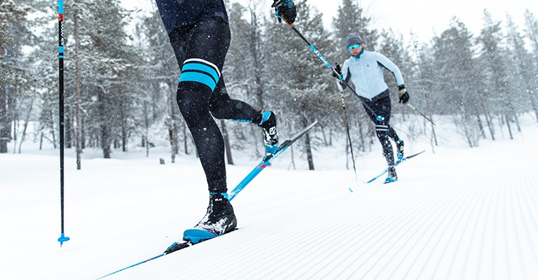 classic cross country skiing